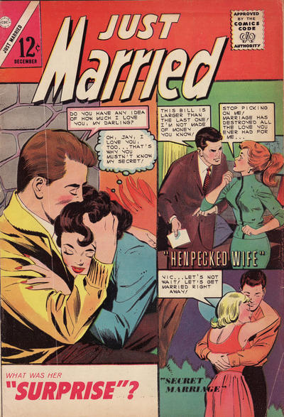 Cover for Just Married (1958 series) #39