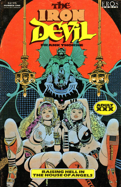 Cover for The Iron Devil (Fantagraphics, 1993 series) #1