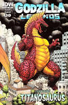 Cover for Godzilla Legends (2011 series) #3 [Retailer Incentive Cover]