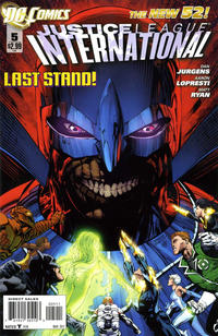 Cover Thumbnail for Justice League International (DC, 2011 series) #5