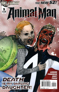 Cover Thumbnail for Animal Man (DC, 2011 series) #5