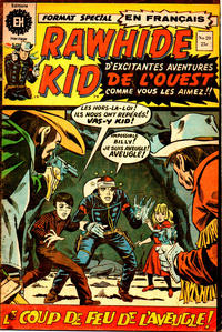 Cover Thumbnail for Rawhide Kid (Editions Héritage, 1970 series) #20