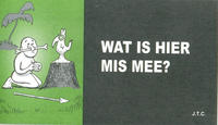 Cover Thumbnail for Wat is hier mis mee? (Chick Publications, 2011 series)