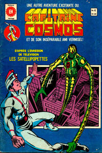 Cover Thumbnail for Capitaine Cosmos (Editions Héritage, 1980 series) #4