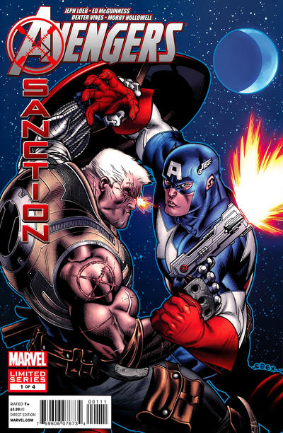 Cover for Avengers: X-Sanction (2012 series) #1 [Direct Market Variant Cover by Bryan Hitch]