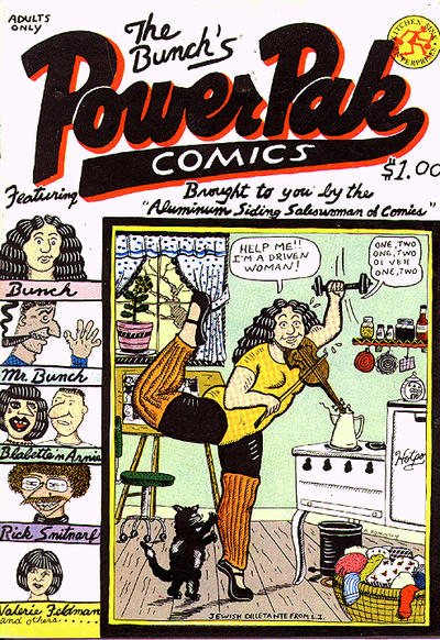 Cover for The Bunch's Power Pak Comics (1979 series) #1