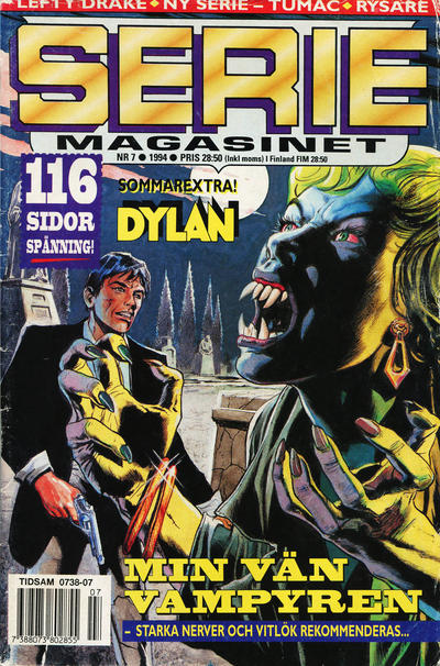 Cover for Seriemagasinet (Semic, 1970 series) #7/1994