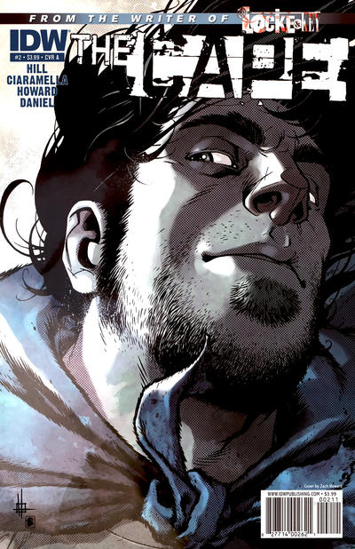 Cover for The Cape (2011 series) #2 [Variant Cover B by Nelson Daniel]