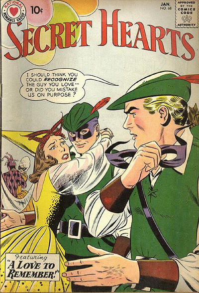 Cover for Secret Hearts (DC, 1949 series) #68