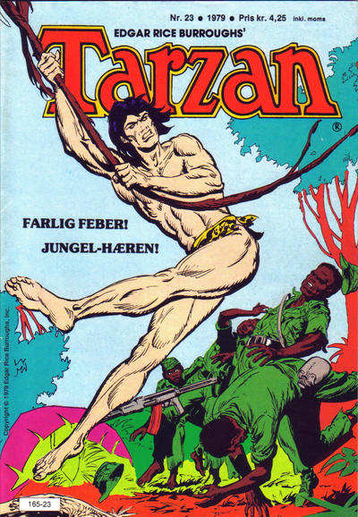 Cover for Tarzan (1977 series) #23/1979