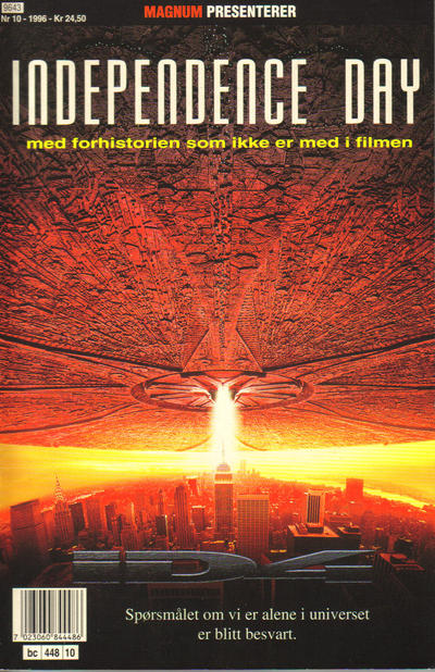 Cover for Magnum presenterer (Bladkompaniet, 1995 series) #10/1996