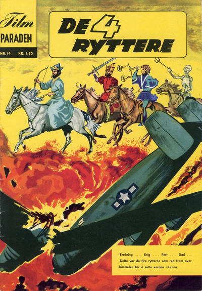 Cover for Filmparaden (Illustrerte Klassikere, 1962 series) #14