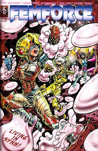 Cover for FemForce (AC, 1985 series) #157