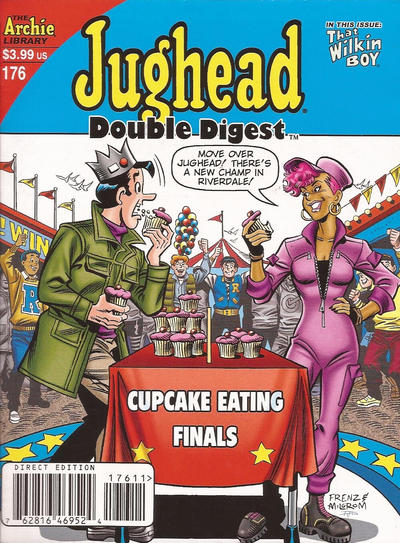 Cover for Jughead&#39;s Double Digest (1989 series) #176 [Direct]