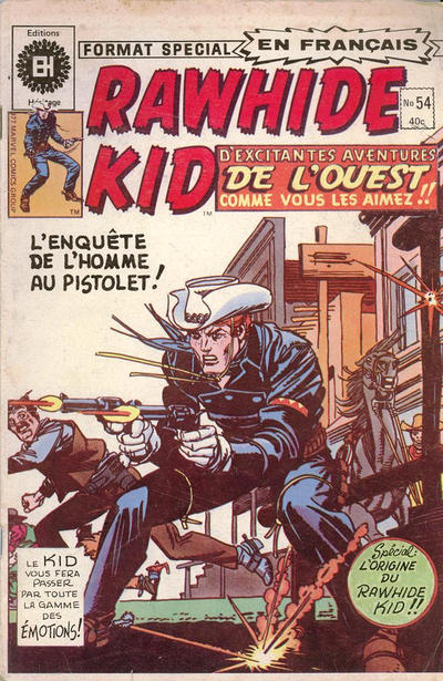 Cover for Rawhide Kid (1970 series) #54