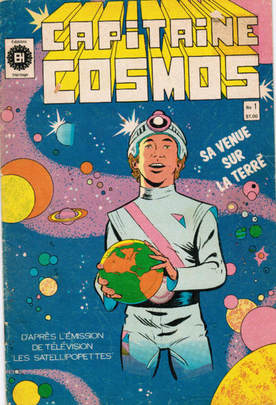 Cover for Capitaine Cosmos (Editions Héritage, 1980 series) #1