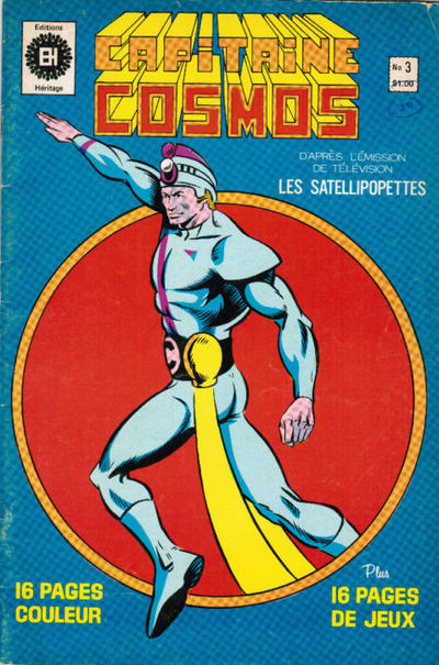 Cover for Capitaine Cosmos (Editions Héritage, 1980 series) #3