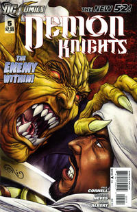 Cover for Demon Knights (DC, 2011 series) #5