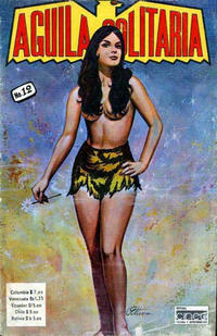 Cover for Aguila Solitaria (Editora Cinco, 1976 ? series) #12