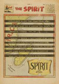 Cover for The Spirit (1940 series) #3/19/1950
