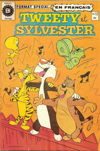 Cover Thumbnail for Tweety et Sylvester (Editions Héritage, 1976 series) #12