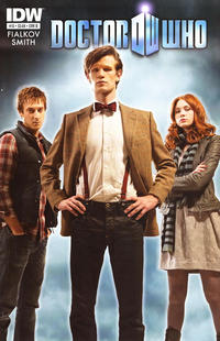 Cover Thumbnail for Doctor Who (IDW, 2011 series) #13 [Cover B]