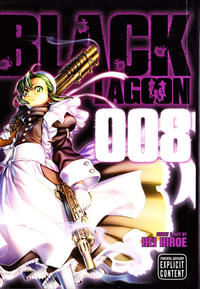 Cover Thumbnail for Black Lagoon (Viz, 2008 series) #8