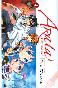 Cover Thumbnail for Arata: The Legend (Viz, 2010 series) #4
