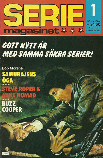 Cover for Seriemagasinet (Semic, 1970 series) #1/1980