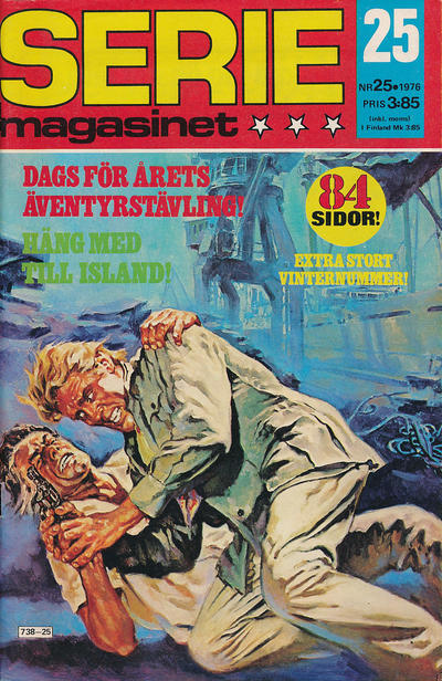 Cover for Seriemagasinet (Semic, 1970 series) #25/1976