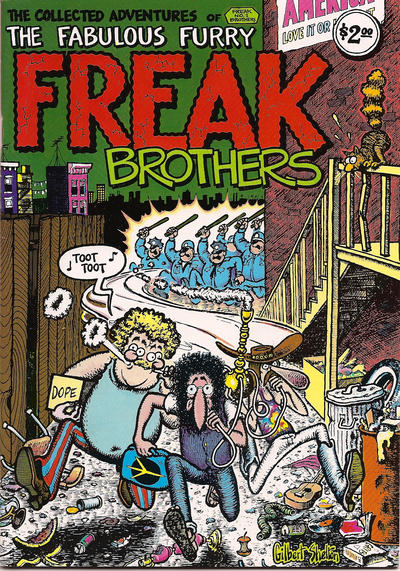 Cover for The Fabulous Furry Freak Brothers (1971 series) #1 [1.00 USD 14th print]