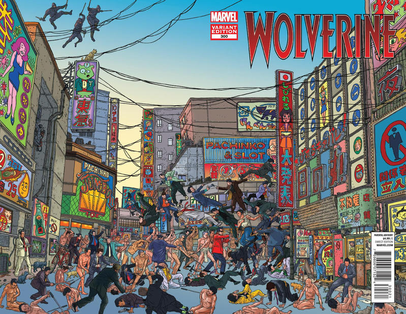 Cover for Wolverine (Marvel, 2010 series) #300 [Direct Edition]