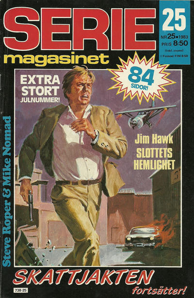 Cover for Seriemagasinet (Semic, 1970 series) #25/1983