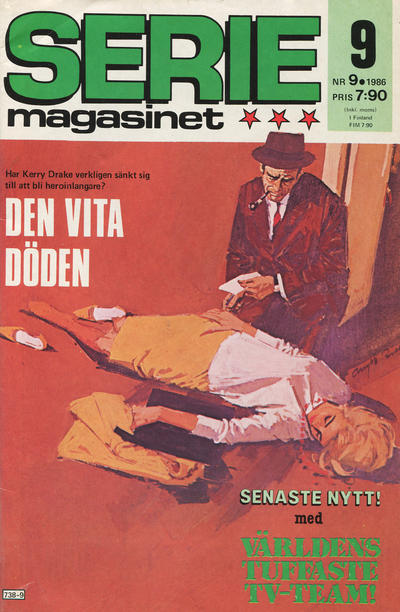 Cover for Seriemagasinet (Semic, 1970 series) #9/1986