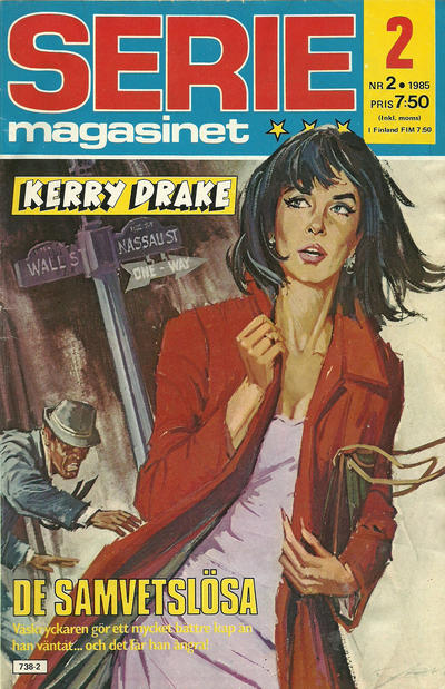 Cover for Seriemagasinet (Semic, 1970 series) #2/1985
