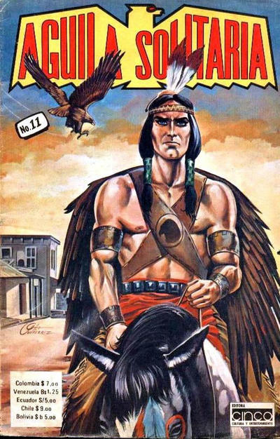 Cover for Aguila Solitaria (Editora Cinco, 1976 ? series) #11