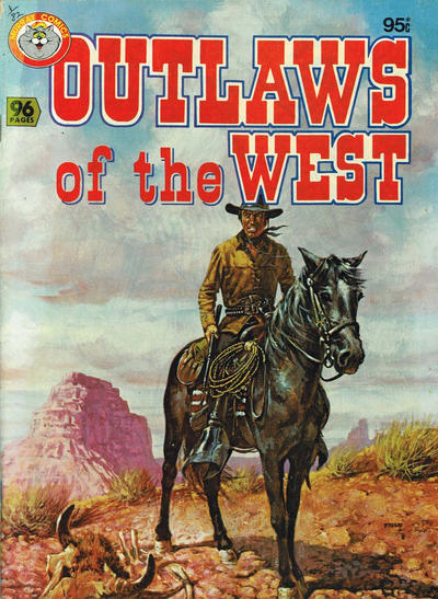 Cover for Outlaws of the West (K. G. Murray, 1981 series)
