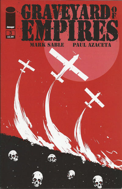 Cover for Graveyard of Empires (Image, 2011 series) #3