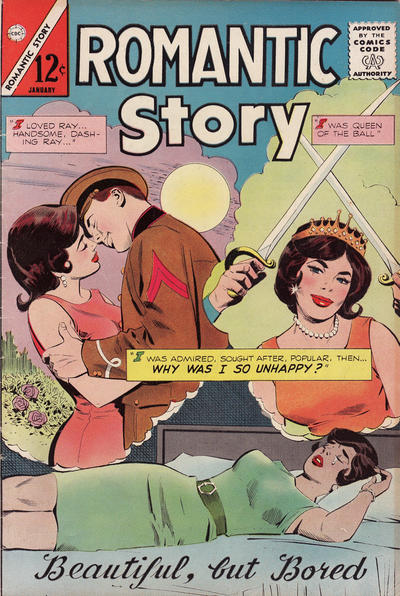 Cover for Romantic Story (1954 series) #75