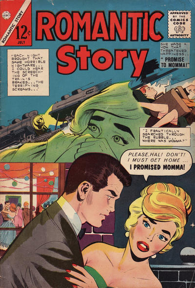Cover for Romantic Story (Charlton, 1954 series) #67