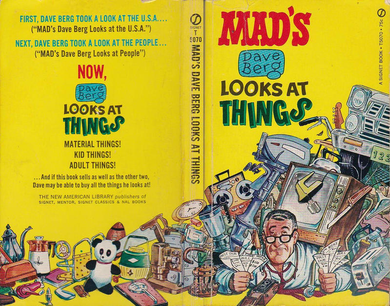 Cover for Mad&#39;s Dave Berg Looks At Things (1967 series) #T5070