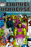 Cover for The Official Handbook of the Marvel Universe (Marvel, 1985 series) #17