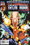 Cover for Iron Man (Marvel, 1998 series) #35