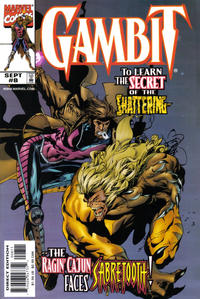 Cover Thumbnail for Gambit (Marvel, 1999 series) #8