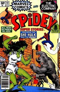 Cover Thumbnail for Spidey Super Stories (Marvel, 1974 series) #50