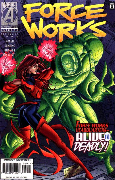 Cover for Force Works (Marvel, 1994 series) #20