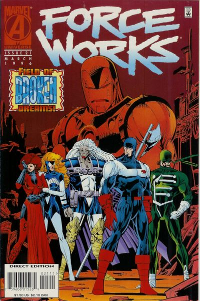 Cover for Force Works (1994 series) #21