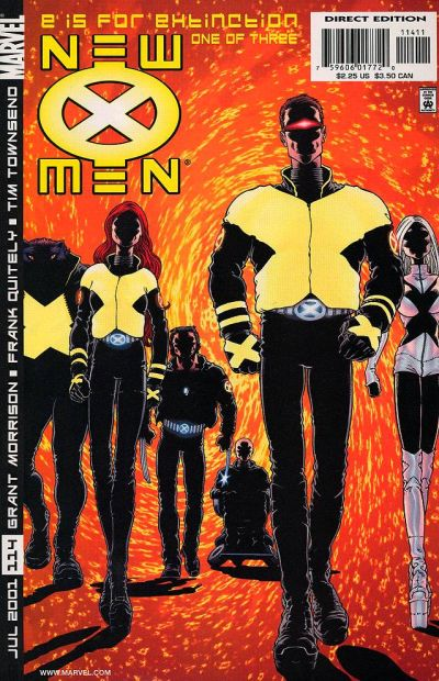 Cover for New X-Men (Marvel, 2001 series) #114 [Direct Edition]