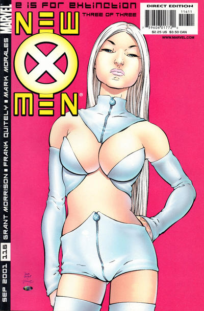 Cover for New X-Men (2001 series) #116