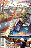 Cover for Legion of Super-Heroes (DC, 2011 series) #5 [direct sales]